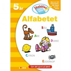 Skoleklar Lektiehjælper: Alfabetet