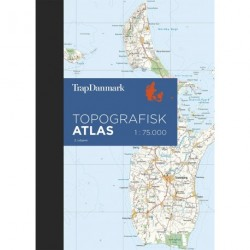 Trap Danmark Topografisk Atlas, 2. udgave: Atlas i målforholdet 1:75.000