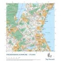 Trap Danmark: Falset kort over Fredensborg Kommune: Topografisk kort 1:75.000