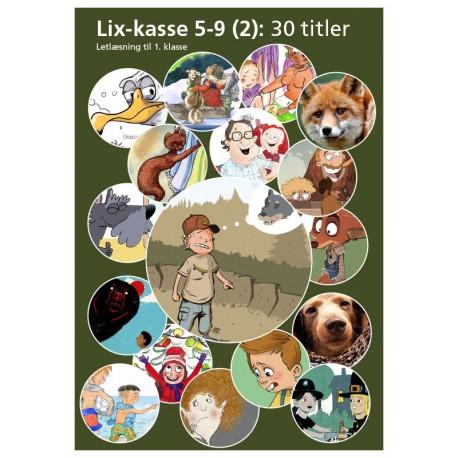 Lix-kasse 5-9 (2): Letlæsning til 1. klasse