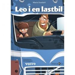 Leo i en lastbil