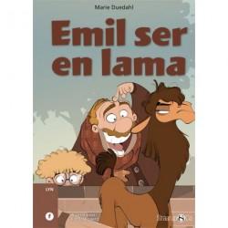 Emil ser en lama