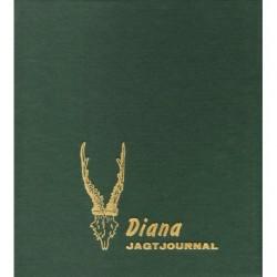 Diana Jagtjournal: vildtudbytteskemaer, jagtrejserapporter og dagbogsblade