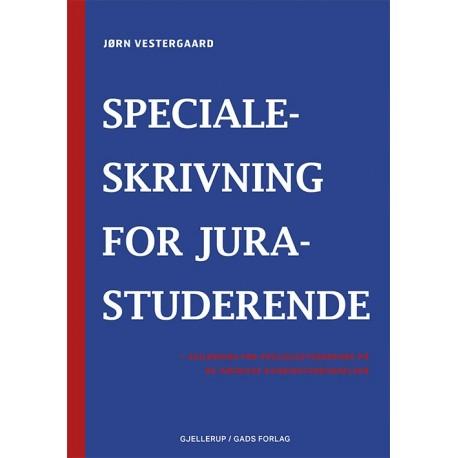 Specialeskrivning for jurastuderende: -vejledning for specialestuderende på juridiske kandidatuddannelser