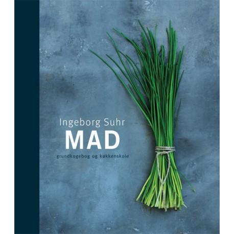 MAD illustreret i farver: Grundkogebog og køkkenskole