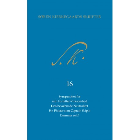 Søren Kierkegaars Skrifter pakke 25, bind 16 + K16