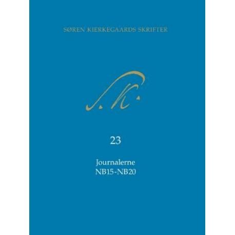 Søren Kierkegaards Skrifter Journalerne NB15-NB20