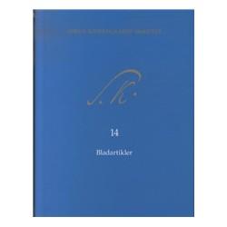 Søren Kierkegaards Skrifter bd. 14 + K14 (pakke 22): Dagbladsartikler 1834-1838; Dagbladsartikler 1842-1851; Dagbladsartikler 1854-1855