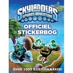 Skylanders Spyro's Adventure Officiel stickerbog
