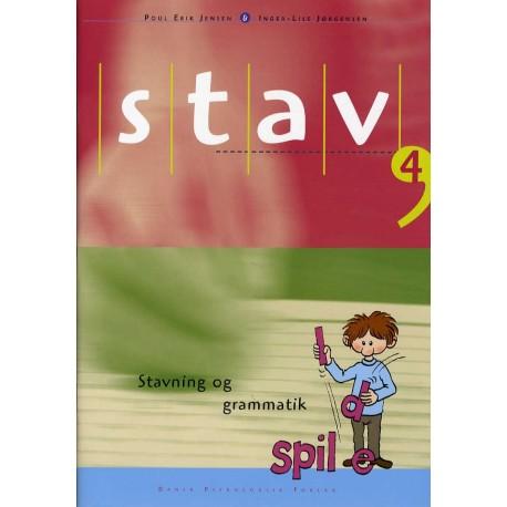 STAV 4 - Elevens bog, 4. udgave: Stavning og grammatik for 4. klasse