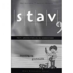 STAV 4 - Facit, løsningsforslag og kommentarer, 5. udgave