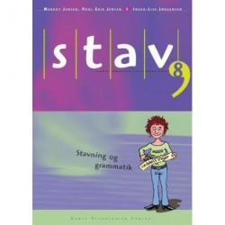STAV 8 - Elevens bog, 5. udgave: Stavning og grammatik for 8. klasse