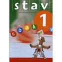 STAV 1 - Elevens bog, 3. udgave: Bogstavindlæring og skriftsprogligt arbejde for 1. klasse