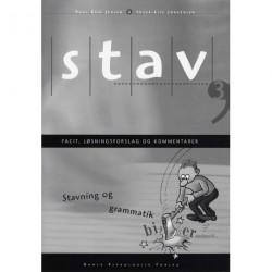 STAV 3 - Facit, løsningsforslag og kommentarer, 5. udgave