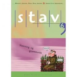 STAV 6 - Elevens bog, 5. udgave: Stavning og grammatik for 6. klasse
