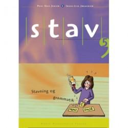 STAV 5 - Elevens bog, 5. udgave: Stavning og grammatik for 5. klasse