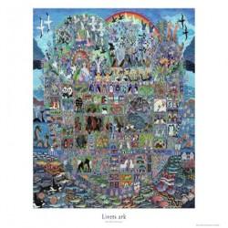 Livets ark plakat -Plakat: 60 x 80 cm