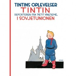 Tintin i Sovjetunionen – softcover: Tintin