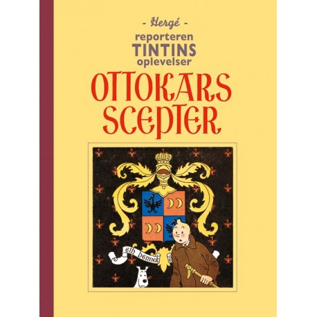 Reporteren Tintins oplevelser: Ottokars scepter: fundamentalistisk retroudgave i sort-hvid