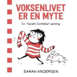 Voksenlivet er en myte – En Sarah's Scribbles-samling