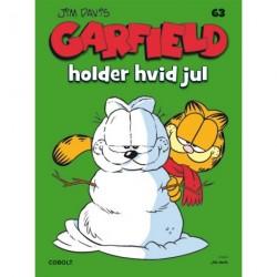 Garfield 63: Garfield holder hvid jul: Garfield holder hvid jul
