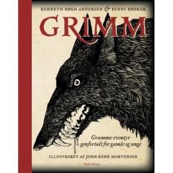 Grimm - grumme eventyr genfortalt for gamle og unge: Ny pris d. 1/5.2019 kr. 249,95