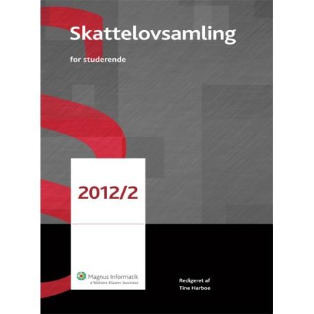 Skattelovsamling for studerende (2012-2)