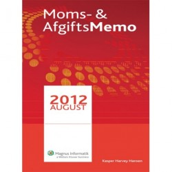 Moms- & AfgiftsMemo (August 2012)