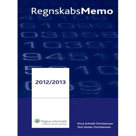 RegnskabsMemo: Håndbog for praktikere (2012/2013 (6. udgave))