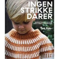 Ingen strikkedarer: Børnestrik str. 0-10 år uden svære strikkekoder