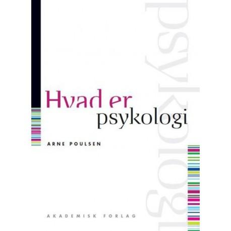 Hvad er psykologi