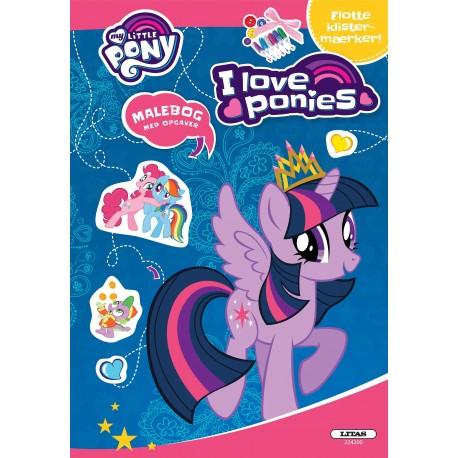 My Little Pony: aktivitetsbog (kolli 6): I Love Ponies