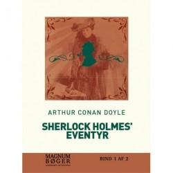 Sherlock Holmes ´eventyr (storskrift)