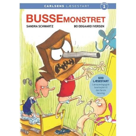 Carlsens Læsestart - Bussemonstret