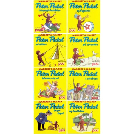 Pixi serie 110 - Peter Pedal: kolli 48