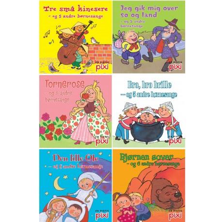 Pixi serie 117 - børnesange: VI HENVISER TIL: 9788711456552, 9788711456576, 9788711456569