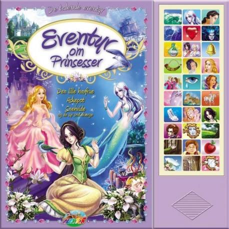 Eventyr om Prinsesser: Den lille havfrue, Askepot, Snehvide og de syv små dværge