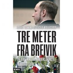 Tre meter fra Breivik: en beretning fra Nordens største terrorretssag