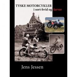Tyske motorcykler i sort-hvid og farver
