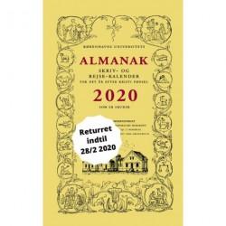 Universitetets Almanak Skriv- og Rejsekalender 2020