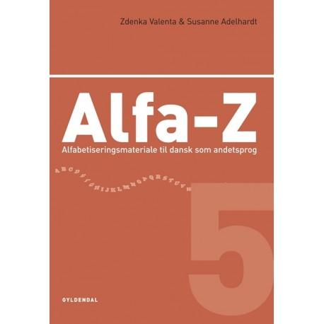 Alfa-Z 5: Alfabetiseringsmateriale til dansk som andetsprog