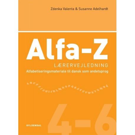Alfa-Z 4-6  Lærervejledning: Alfabetiseringsmateriale til dansk som andetsprog