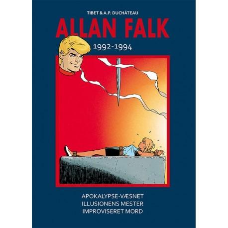 Allan Falk 1992-1994: Apokalypse-væsnet, Illusionens mester, Improviseret mord