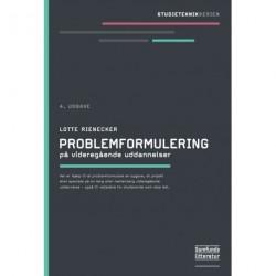 Problemformulering: på videregående uddannelser
