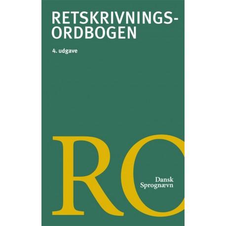 Retskrivningsordbogen, 4.udg.