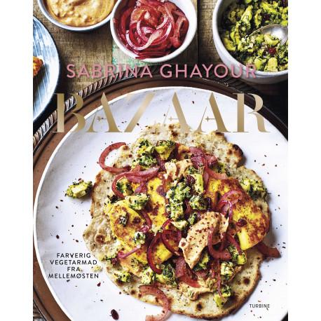 Bazaar: Farverig vegetarmad fra Mellemøsten
