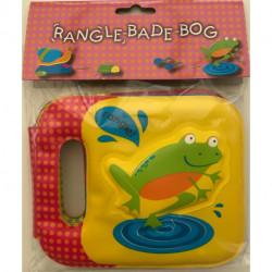 Rangle-badebog - frø: badebog med indbygget rangle
