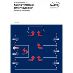 Naturlig ventilation i erhvervsbygninger: Beregning og dimensionering