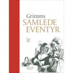 Grimms samlede eventyr: Rød indbinding