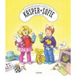 Kasper og Sofie leger teater